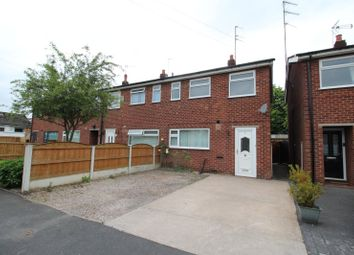 Thumbnail 3 bed end terrace house for sale in Ashdale Close, Reddish, Stockport, Cheshire