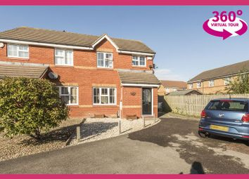 Thumbnail 3 bed semi-detached house for sale in The Willows, Bradley Stoke, Bristol