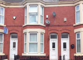 Thumbnail 4 bedroom property to rent in Connaught Road, Kensington, Liverpool