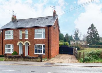 Thumbnail 2 bed semi-detached house to rent in Guildford Road, Frimley Green, Camberley