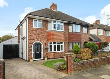 Thumbnail 3 bed semi-detached house for sale in Grosvenor Road, Staines-Upon-Thames, Surrey
