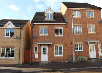 Thumbnail 4 bed town house for sale in Johnson Drive, Leighton Buzzard