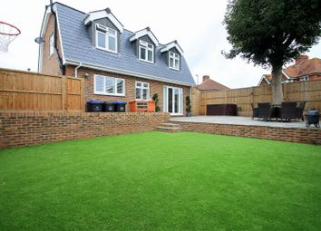 Thumbnail 4 bed detached house for sale in Sandown Road, Southwick, Brighton