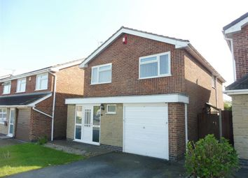 Thumbnail 4 bed detached house to rent in Shottens Close, Leicester