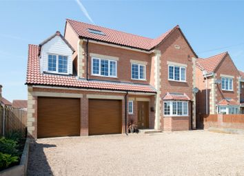 Thumbnail 6 bed detached house for sale in Doncaster Road, Whitley, Goole