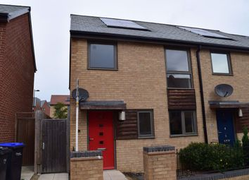 Thumbnail 3 bed property to rent in Clover Street, Upton, Northampton