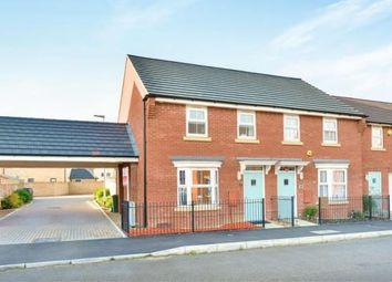 Thumbnail 3 bedroom semi-detached house for sale in Shaw Savill Way, Brooklands, Milton Keynes