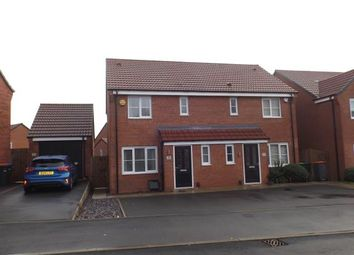 Thumbnail 3 bed semi-detached house for sale in Spitfire Way, Hucknall, Nottingham, Nottinghamshire