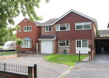 Thumbnail 4 bed detached house for sale in Greenland Close, Kingswinford