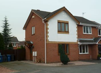 Thumbnail 2 bed semi-detached house to rent in Suffolk Way, Fazeley, Tamworth.