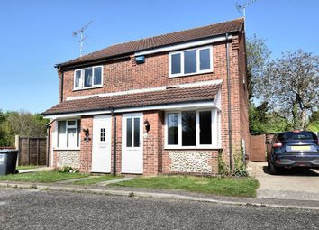 Thumbnail 2 bedroom semi-detached house for sale in Swann Grove, Holt
