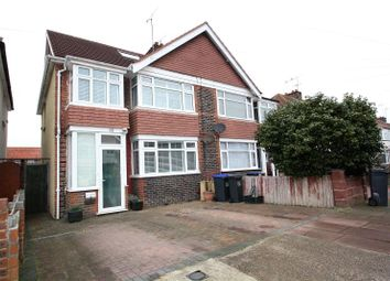 Thumbnail 4 bed semi-detached house for sale in Reigate Road, Worthing, West Sussex
