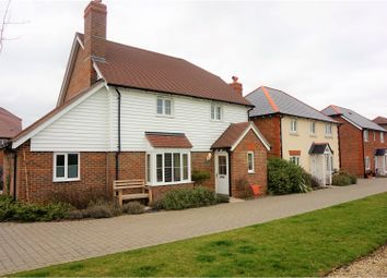 Thumbnail 4 bed detached house for sale in Meadow Brown View, Sittingbourne