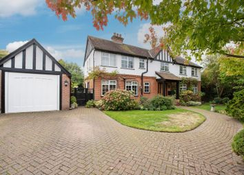 Thumbnail 6 bed detached house for sale in Sole Farm Road, Bookham, Leatherhead