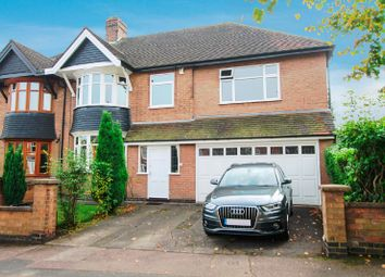 Thumbnail 5 bed semi-detached house for sale in Stoughton Road, Stoneygate, Leicester