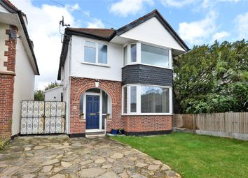 Thumbnail 3 bedroom detached house for sale in Manor Drive North, Worcester Park, Surrey