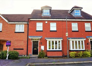 Thumbnail 3 bed semi-detached house for sale in Anglia Drive, Church Gresley, Swadlincote