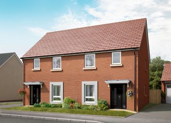 "Thumbnail 3 bed semi-detached house for sale in ""The Huntington"" at Lakeside Boulevard, Cannock"