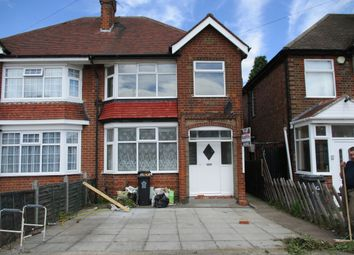 Thumbnail 3 bed semi-detached house to rent in Woodbridge Road, Belgrave, Leicester
