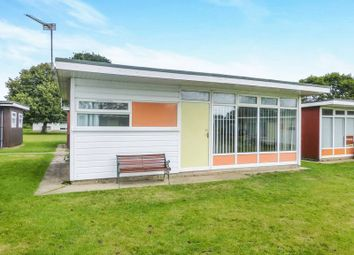 Thumbnail 2 bedroom detached house for sale in Broadside Chalet Park Stalham, Norwich