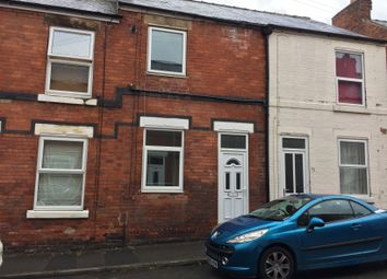 Thumbnail 2 bed terraced house to rent in John Street, Brampton, Chesterfield