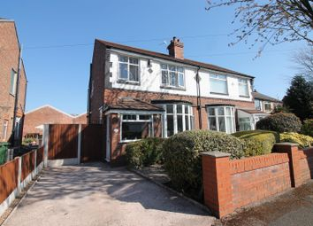 Thumbnail 3 bed semi-detached house for sale in Hazel Grove, Urmston, Manchester