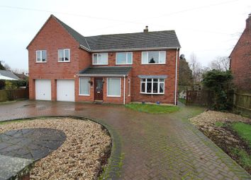 Thumbnail 6 bed detached house for sale in Babbinswood, Whittington, Oswestry