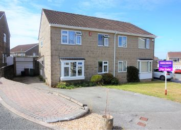 Thumbnail 4 bed semi-detached house for sale in Colston Close, Plymouth