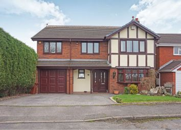 Thumbnail 4 bed detached house for sale in Kinross Avenue, Cannock