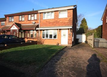 Thumbnail 3 bed semi-detached house for sale in Tiber Drive, Chesterton, Newcastle