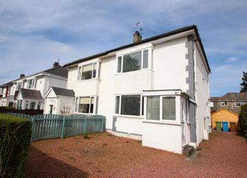 Thumbnail 2 bed semi-detached house for sale in Holehouse Road, Eaglesham, East Renfrewshire