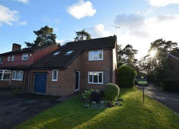 Thumbnail 4 bed detached house for sale in Marshall Close, Frimley, Camberley, Surrey