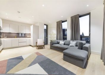 Thumbnail 1 bed flat to rent in Mondrian House, Kidderpore Avenue, London