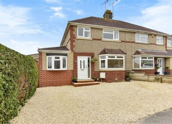 Thumbnail 4 bed semi-detached house for sale in Berkeley Road, Wroughton, Swindon