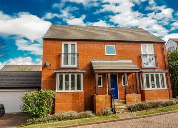 Thumbnail 4 bed detached house for sale in East Moor Drive, Wolverton Mill, Milton Keynes