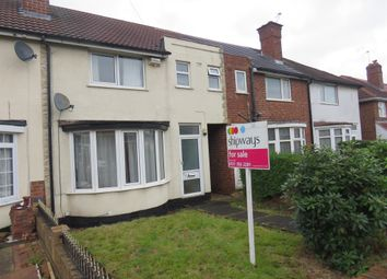 Thumbnail 3 bed terraced house for sale in Cramlington Road, Great Barr, Birmingham