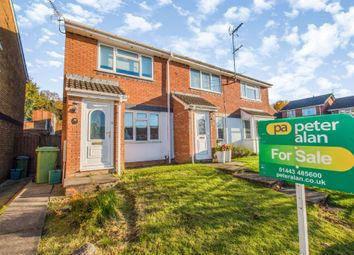 Thumbnail 2 bed end terrace house for sale in Brynderwen, Cilfynydd, Pontypridd