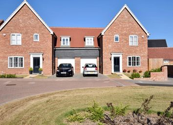 Thumbnail 3 bed semi-detached house for sale in Daisy Drive, Leiston