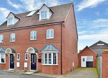 Thumbnail 4 bed semi-detached house for sale in Blackbird Way, Harleston