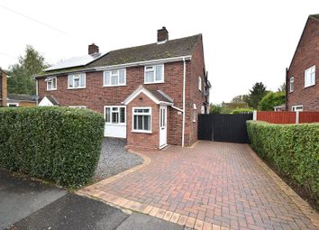Thumbnail 3 bed semi-detached house for sale in Elmley Close, Cutnall Green, Droitwich Spa, Worcestershire