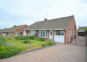 Thumbnail 3 bed semi-detached bungalow for sale in Covert Close, Keyworth, Nottingham