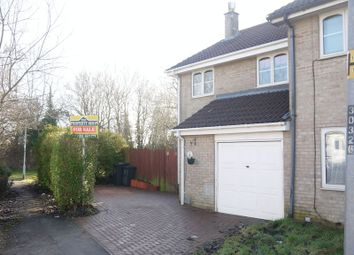 Thumbnail 3 bedroom semi-detached house for sale in Mildmay Close, Grange Park, Swindon