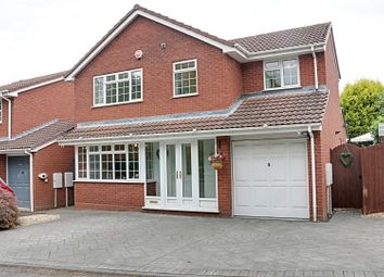 Thumbnail 4 bed detached house for sale in Muxloe Close, Turnberry, Bloxwich, Walsall