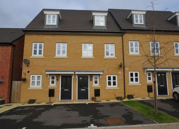 Thumbnail 3 bedroom town house for sale in Blackcurrant Grove, Higham Ferrers, Rushden