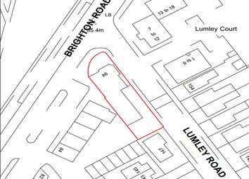 Thumbnail Land for sale in Brighton Road, Horley