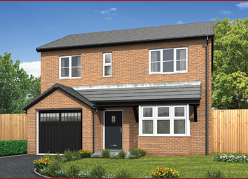 Thumbnail 4 bed detached house for sale in Haslingden Road, Blackburn