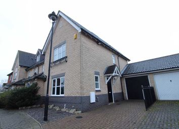 Thumbnail 3 bed end terrace house for sale in Martinet Green, Ipswich