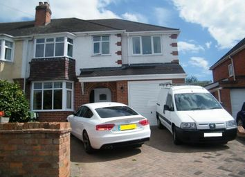 Thumbnail 4 bed semi-detached house for sale in Newton Road, Aston Fields, Bromsgrove, Worcs