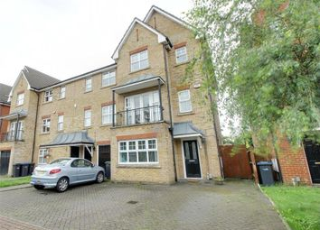 Thumbnail 4 bed semi-detached house for sale in Cobham Close, Enfield