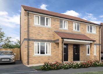 Thumbnail 3 bed semi-detached house for sale in Harvest Way, Eastfield, Scarborough, North Yorkshire